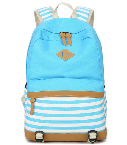 Girls Preppy School Backpack